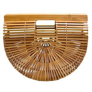 New Bamboo Handbag Handmade Large Tote Bag
